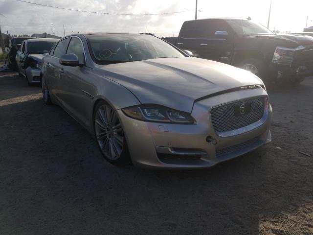 Salvage cars for sale at West Palm Beach, FL auction: 2016 Jaguar XJL Superc