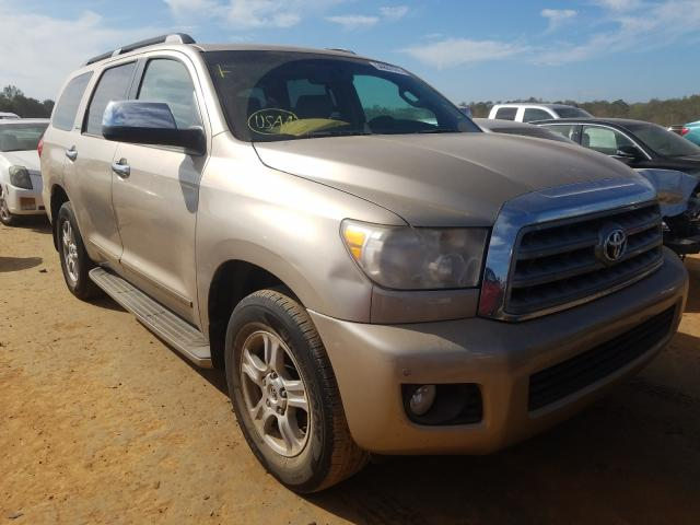 Toyota Sequoia LI salvage cars for sale: 2008 Toyota Sequoia LI