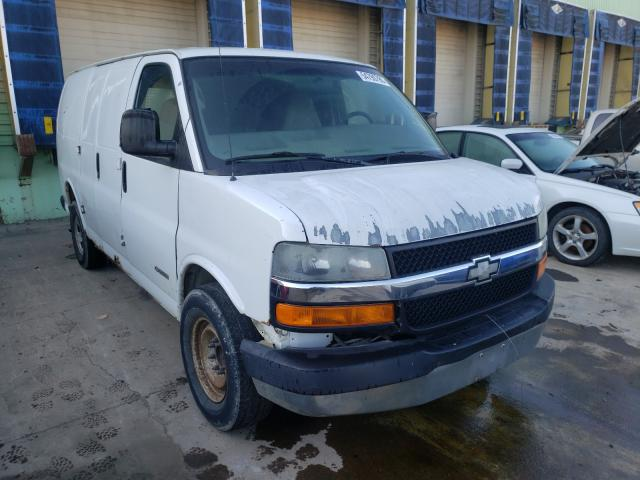Salvage cars for sale from Copart Columbus, OH: 2005 Chevrolet Express G2