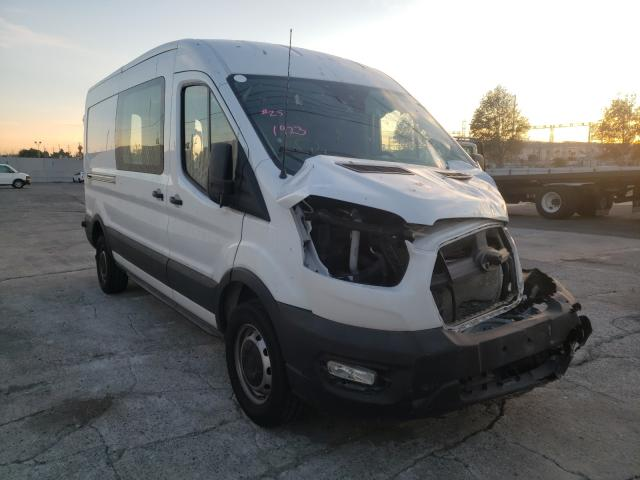 Salvage cars for sale from Copart Wilmington, CA: 2020 Ford Transit T