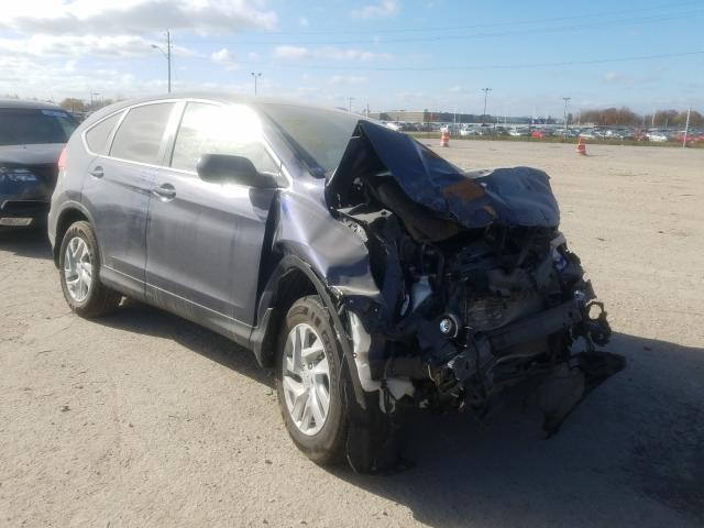 Salvage cars for sale from Copart Indianapolis, IN: 2015 Honda CR-V EX