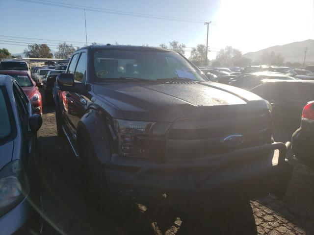 Salvage cars for sale from Copart Colton, CA: 2015 Ford F150 Super