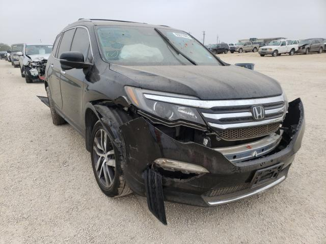 Salvage cars for sale from Copart San Antonio, TX: 2016 Honda Pilot Touring