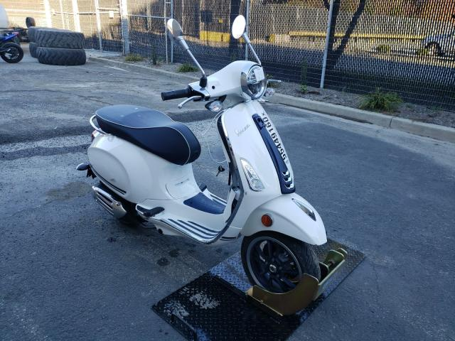 Salvage cars for sale from Copart Waldorf, MD: 2020 Vespa Primavera