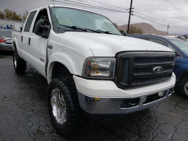 Ford F250 salvage cars for sale: 2007 Ford F250