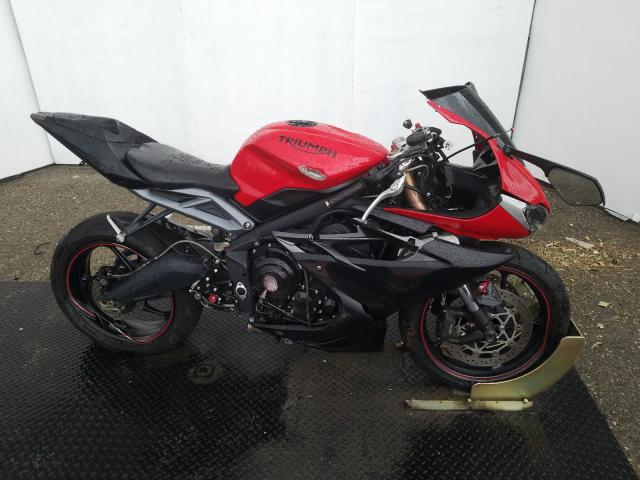 Salvage cars for sale from Copart Rancho Cucamonga, CA: 2015 Triumph Daytona 67