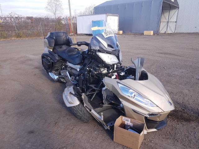 Can-Am salvage cars for sale: 2017 Can-Am Spyder ROA