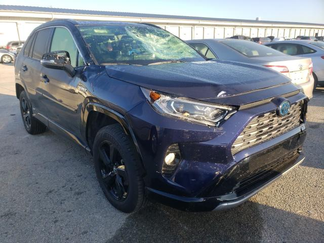 Salvage cars for sale from Copart Lawrenceburg, KY: 2019 Toyota Rav4 XSE