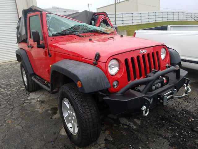 Salvage cars for sale from Copart Gainesville, GA: 2015 Jeep Wrangler S