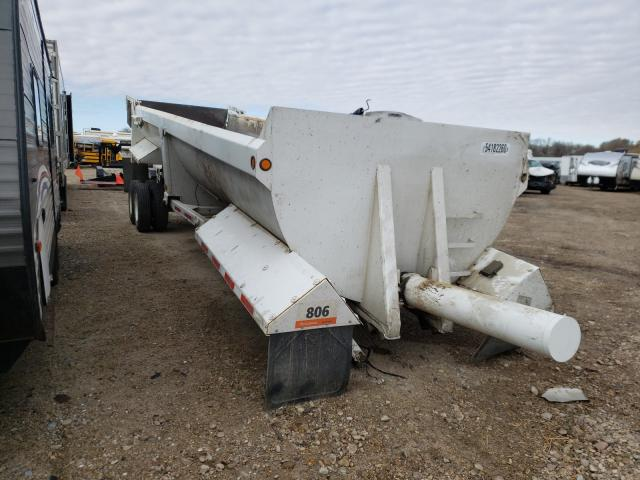 Trail King Vehiculos salvage en venta: 2002 Trail King Dump Trailer