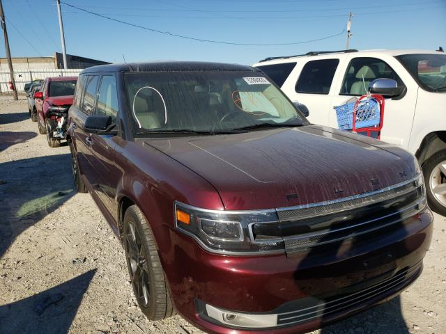 Salvage cars for sale from Copart Columbus, OH: 2017 Ford Flex Limited