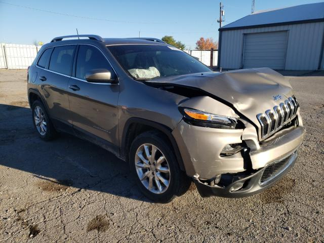 Salvage cars for sale from Copart Lexington, KY: 2017 Jeep Cherokee L