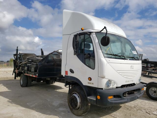 Smith Electric D120 SC salvage cars for sale: 2012 Smith Electric D120 SC