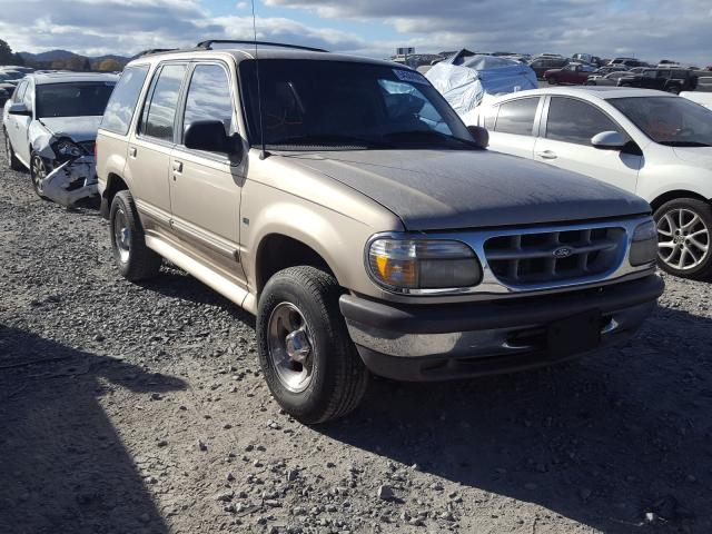 Salvage cars for sale from Copart Madisonville, TN: 1997 Ford Explorer