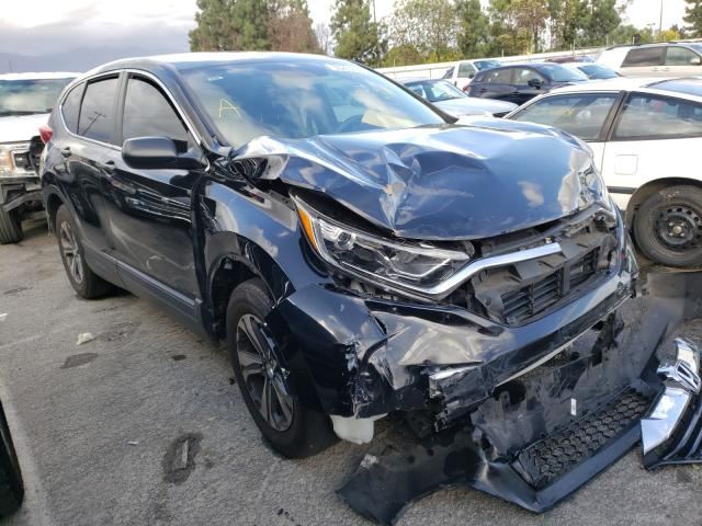 Salvage cars for sale from Copart Rancho Cucamonga, CA: 2019 Honda CR-V LX