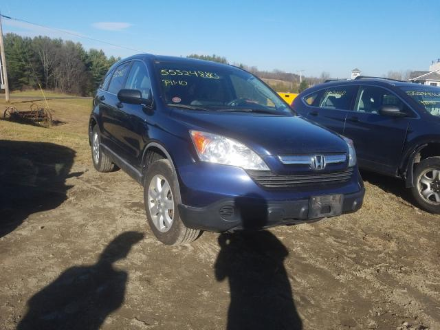 Salvage cars for sale from Copart West Warren, MA: 2008 Honda CR-V EX