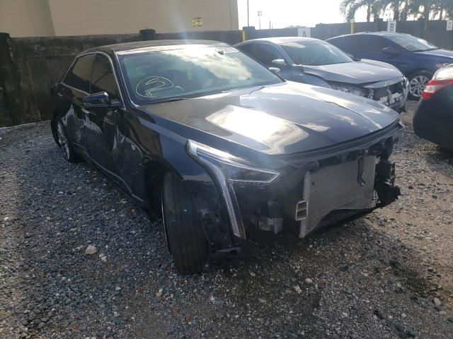 Salvage cars for sale from Copart Opa Locka, FL: 2020 Cadillac CT6 Luxury