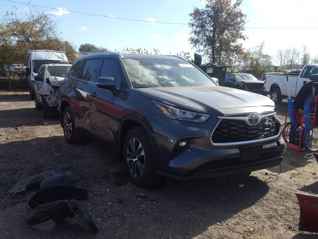 Salvage cars for sale from Copart Baltimore, MD: 2020 Toyota Highlander