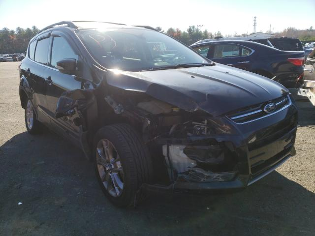 Salvage cars for sale from Copart Exeter, RI: 2013 Ford Escape SEL