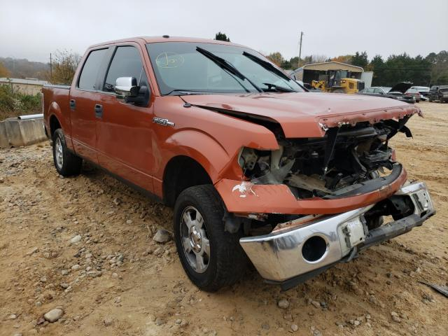 Salvage cars for sale from Copart China Grove, NC: 2010 Ford F150 Super