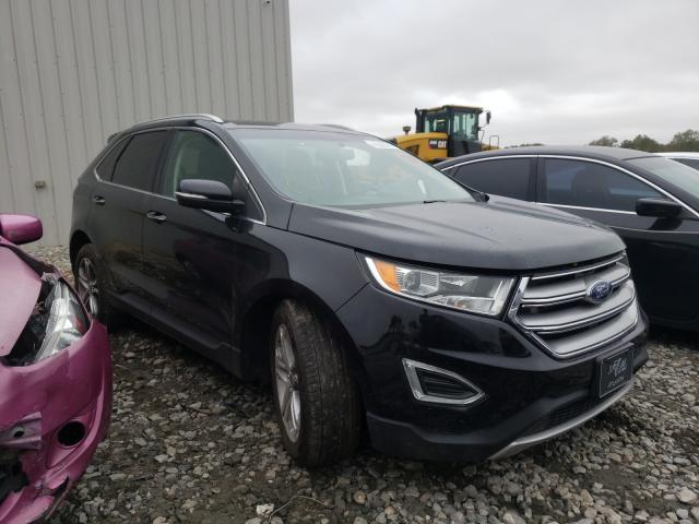 Salvage cars for sale from Copart Byron, GA: 2016 Ford Edge Titanium