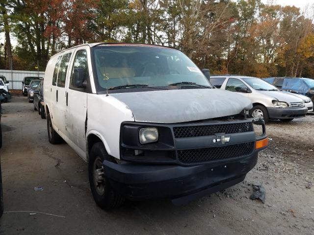 Salvage cars for sale from Copart Austell, GA: 2007 Chevrolet Express G2