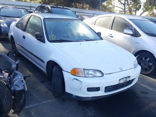 Honda Civic DX salvage cars for sale: 1993 Honda Civic DX