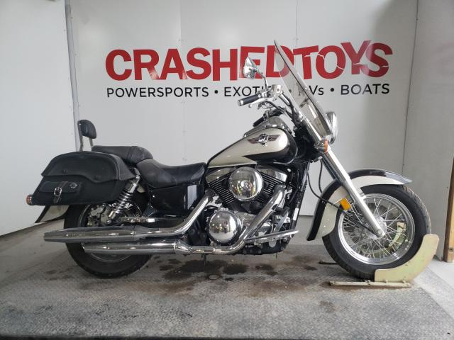 Salvage cars for sale from Copart Kansas City, KS: 2001 Kawasaki VN1500 E