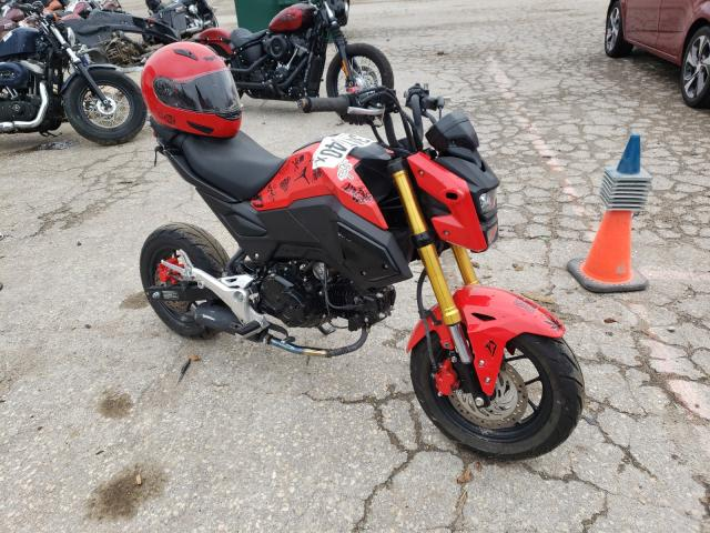 Salvage cars for sale from Copart Wichita, KS: 2020 Honda Grom 125