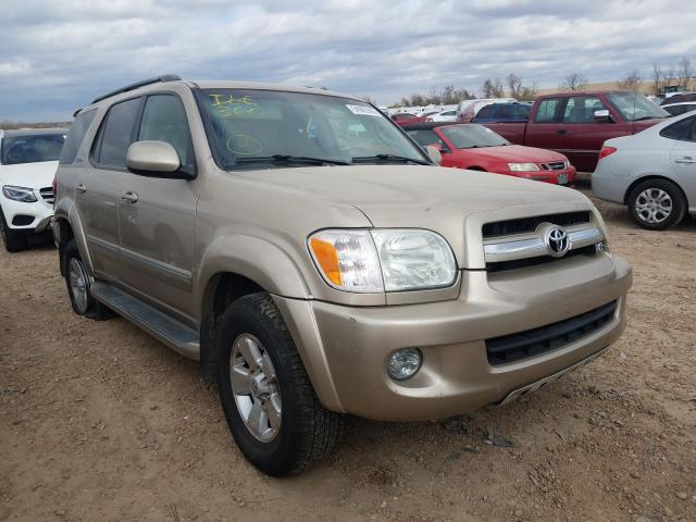 Toyota Sequoia salvage cars for sale: 2006 Toyota Sequoia