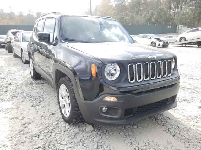 Jeep salvage cars for sale: 2018 Jeep Renegade