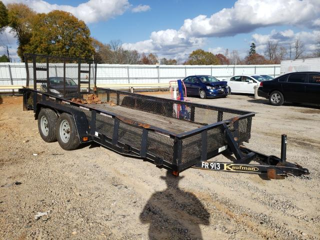 Kaufman salvage cars for sale: 2011 Kaufman Trailer