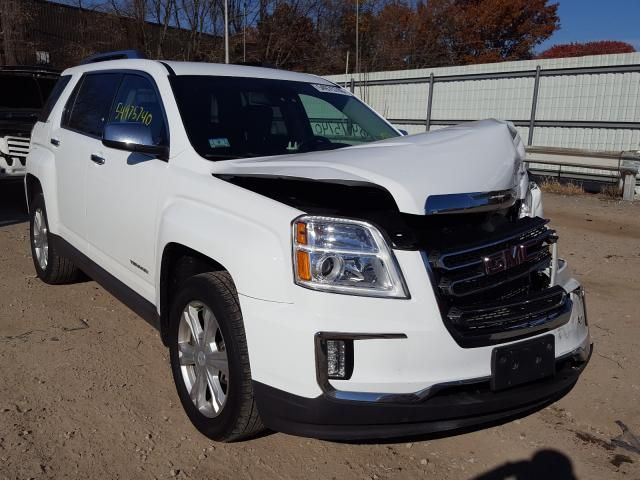 Salvage cars for sale from Copart North Billerica, MA: 2017 GMC Terrain SL
