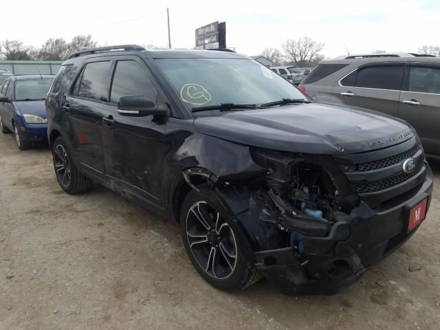 Salvage cars for sale from Copart Wichita, KS: 2015 Ford Explorer S