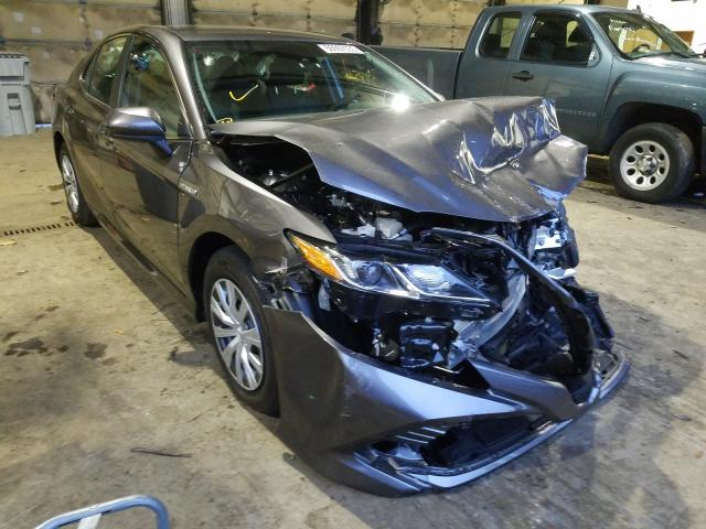 Salvage cars for sale from Copart Graham, WA: 2020 Toyota Camry LE