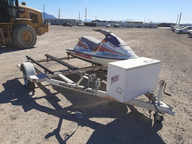 Salvage boats for sale at Las Vegas, NV auction: 1995 Bombardier Jetski