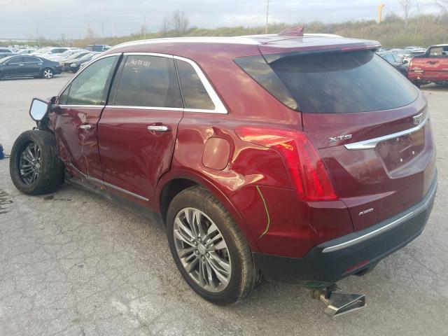2017 Cadillac XT5   Vin: 1GYKNERS6HZ144598
