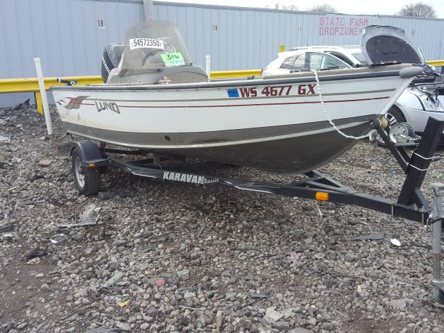 Lund salvage cars for sale: 2005 Lund Boat