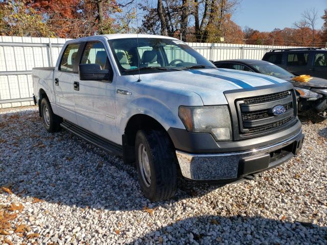 Salvage cars for sale from Copart Rogersville, MO: 2014 Ford F150 Super