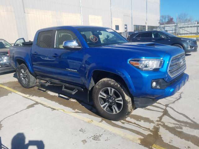 Salvage cars for sale from Copart Lawrenceburg, KY: 2017 Toyota Tacoma DOU