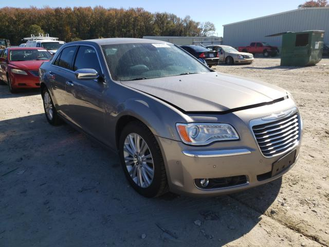 Salvage cars for sale from Copart Hampton, VA: 2014 Chrysler 300C
