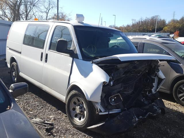 Salvage cars for sale from Copart West Mifflin, PA: 2013 Chevrolet Express G1