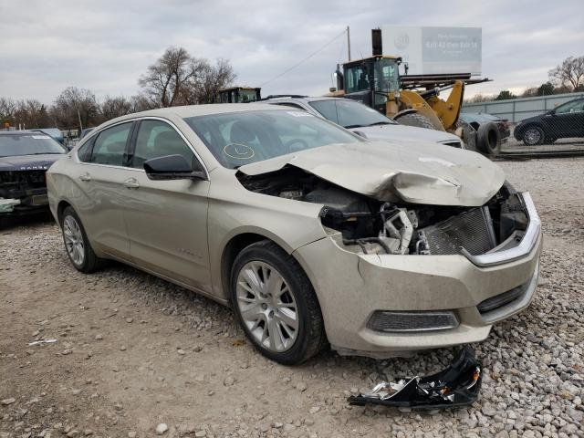 Salvage cars for sale from Copart Wichita, KS: 2014 Chevrolet Impala LS