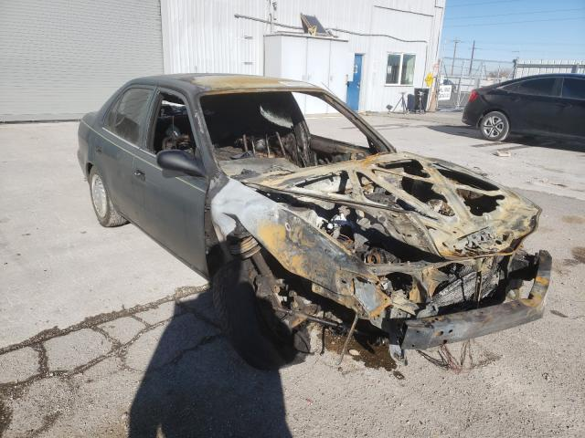 Salvage cars for sale from Copart Reno, NV: 2001 Toyota Corolla CE