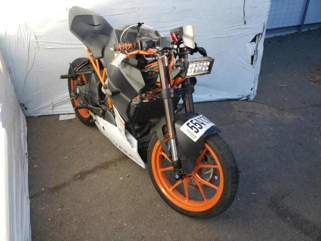 Salvage cars for sale from Copart Sacramento, CA: 2015 KTM 390 Duke