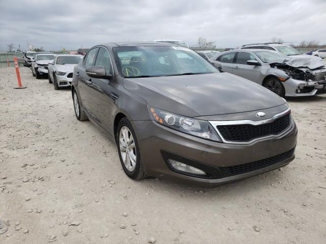 Salvage cars for sale from Copart Kansas City, KS: 2013 KIA Optima EX