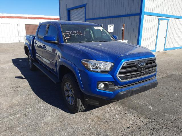 Salvage cars for sale from Copart Las Vegas, NV: 2018 Toyota Tacoma DOU