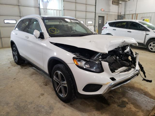 Salvage cars for sale at Columbia, MO auction: 2017 Mercedes-Benz GLC 300 4M