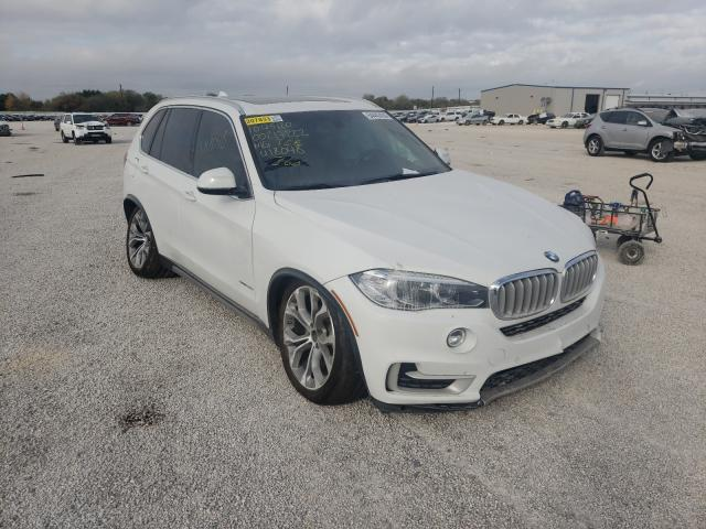 Salvage cars for sale from Copart San Antonio, TX: 2017 BMW X5 SDRIVE3