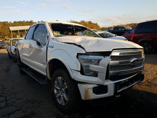 Salvage cars for sale from Copart Austell, GA: 2015 Ford F150 Super